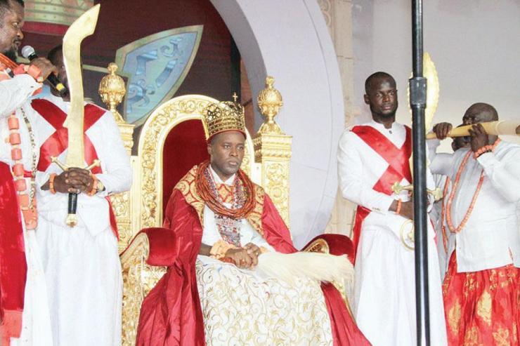 Coronation Of Olu Of Warri And Nigeria's Resistance