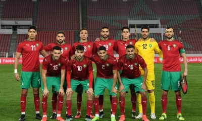 World Cup: Morocco's National Football Team Trap In Guinea