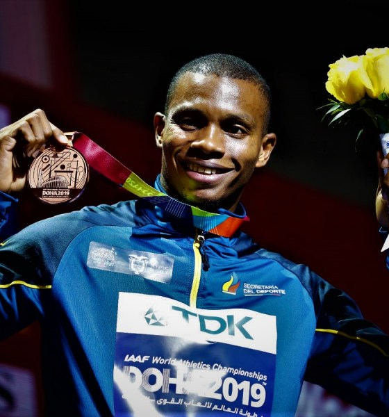 Ecuador's 200 Metres World Bronze Medallist Shot Dead