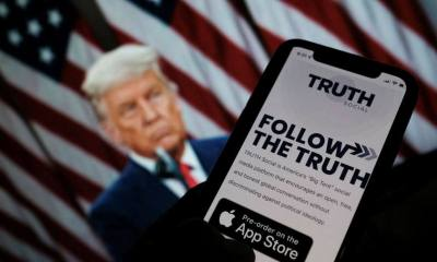Trump's Social Media Platform TRUTH Hacked Before Launch