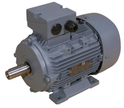 2.2kW  240V Single Phase, 4-pole, Cap-Cap