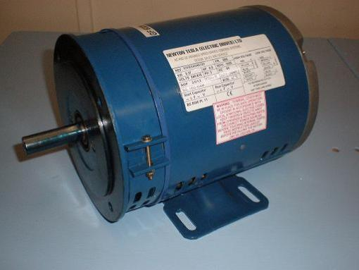 1.1kW, 1.5HP, 220V/415V Three Phase, 4-pole, Totally Enclosed Fan Cooled, Bolted Foot & Flange