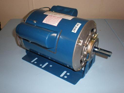 1.1kW, 1.5HP 240V Single Phase, 2-pole, 2800revs, Totally Enclosed