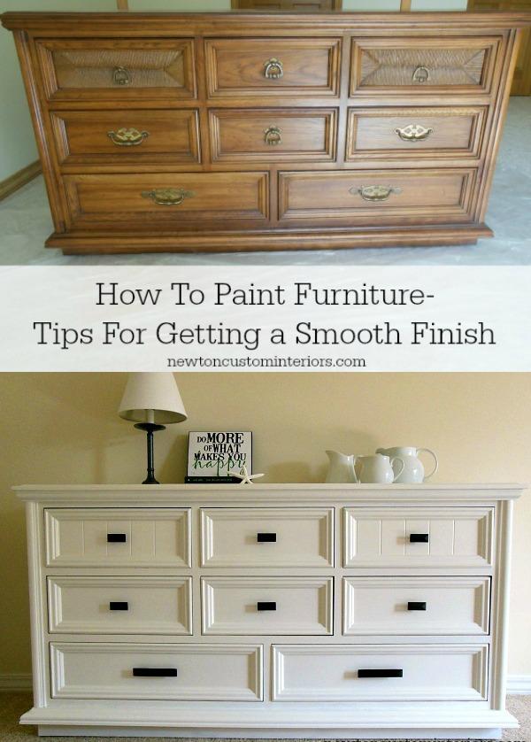 Unique Ways Paint Furniture
