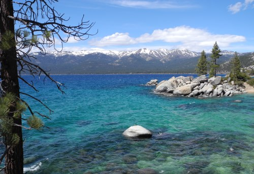 Sand Harbor at Lake Tahoe, Nevada