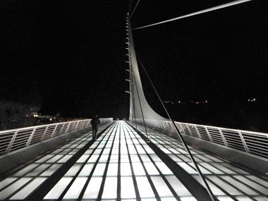 Sundial Bridge in Redding, CA