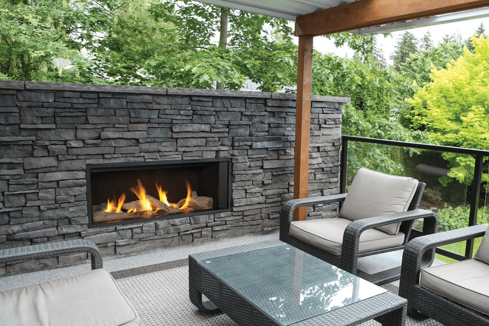 Valor L1 Outdoor Linear Gas Fireplace Newtown Fireplace Shop