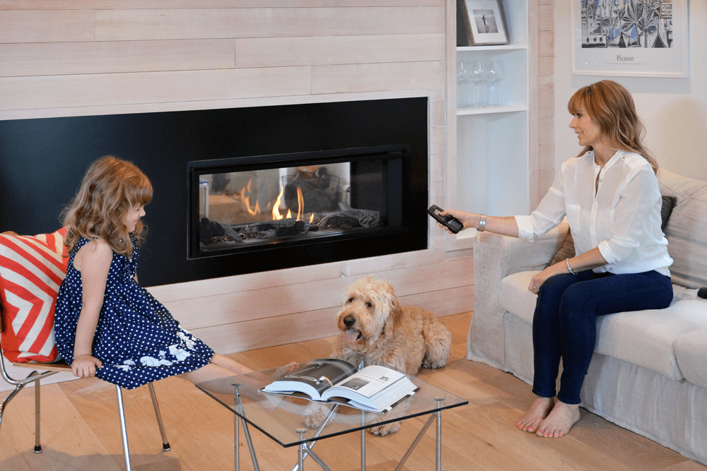 Valor L1 2 Sided Linear Gas Fireplace Newtown Fireplace Shop