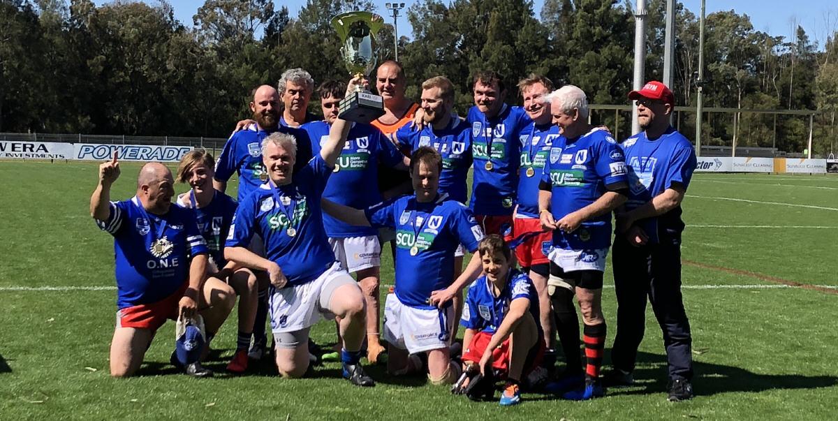 Winners are grinners! Newtown Jets PDRL team - 2019 Premiers.