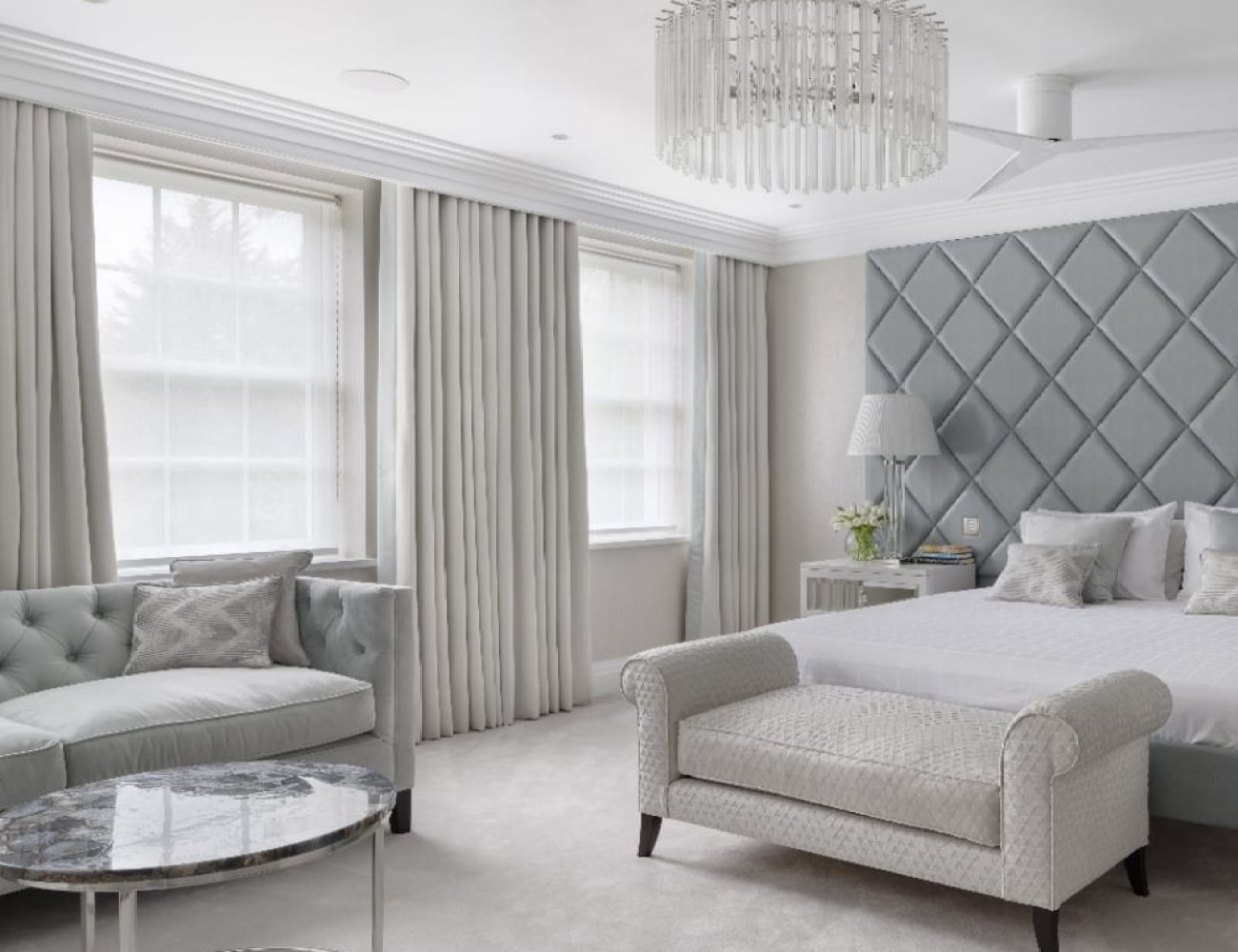 Lutron blinds and curtains