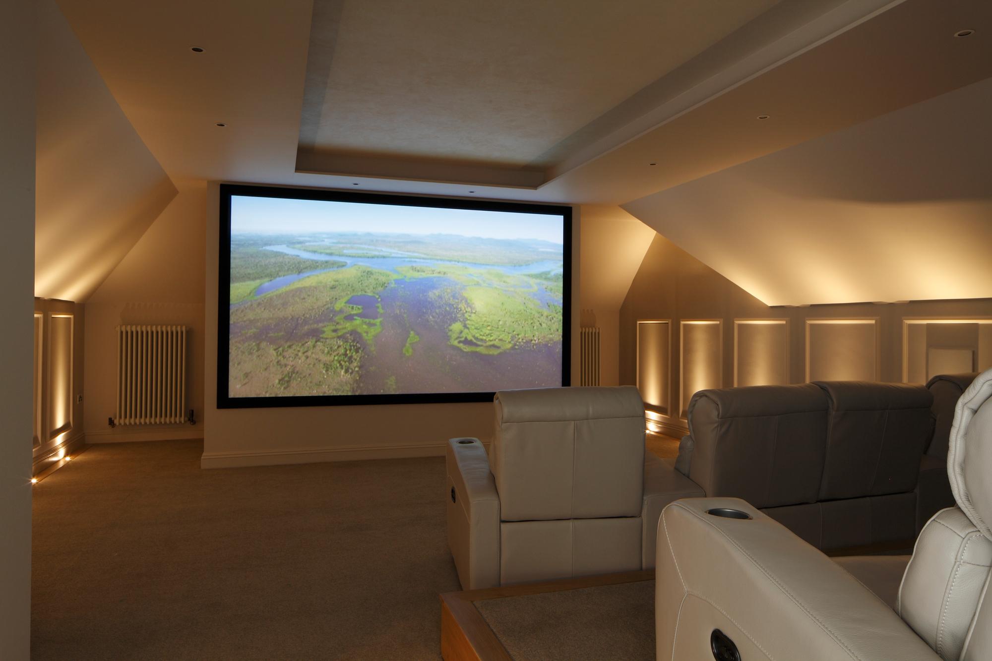 Loft Conversion Home Cinema Surrey New Wave Av