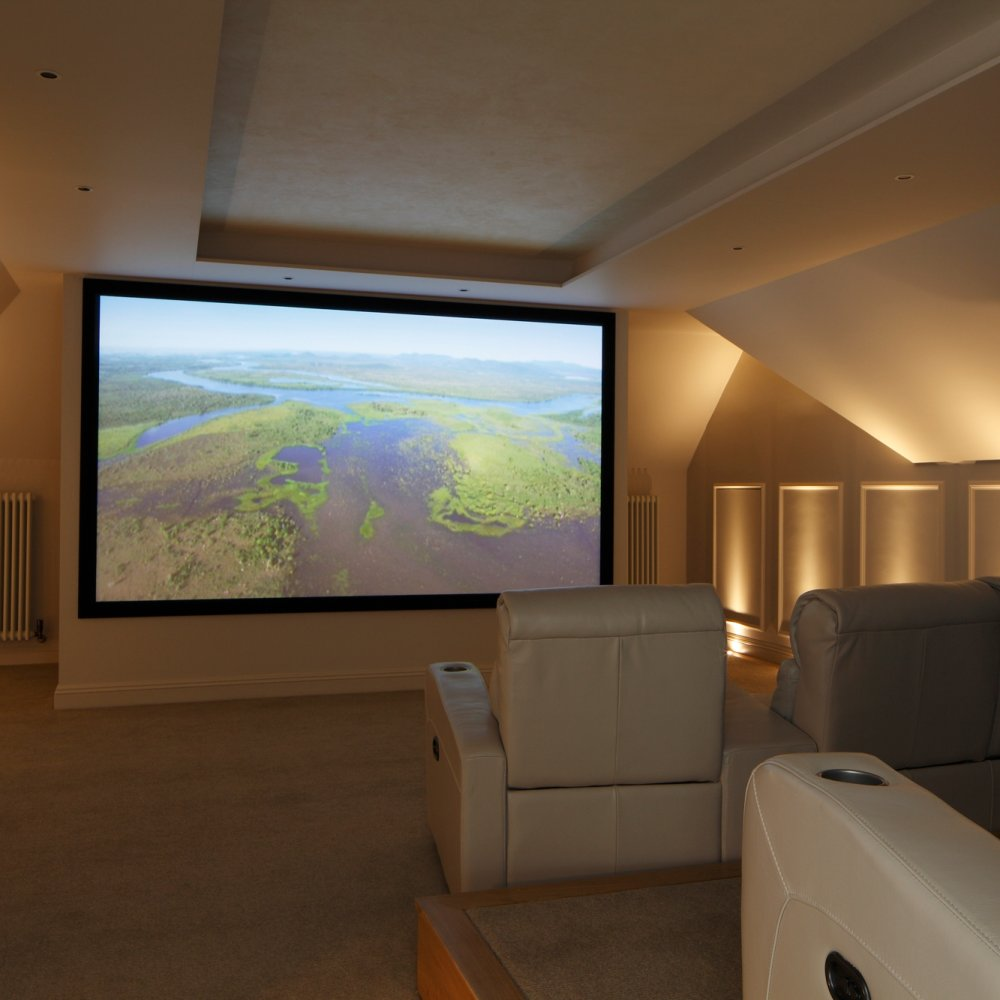 Loft Conversion Home Cinema Surrey