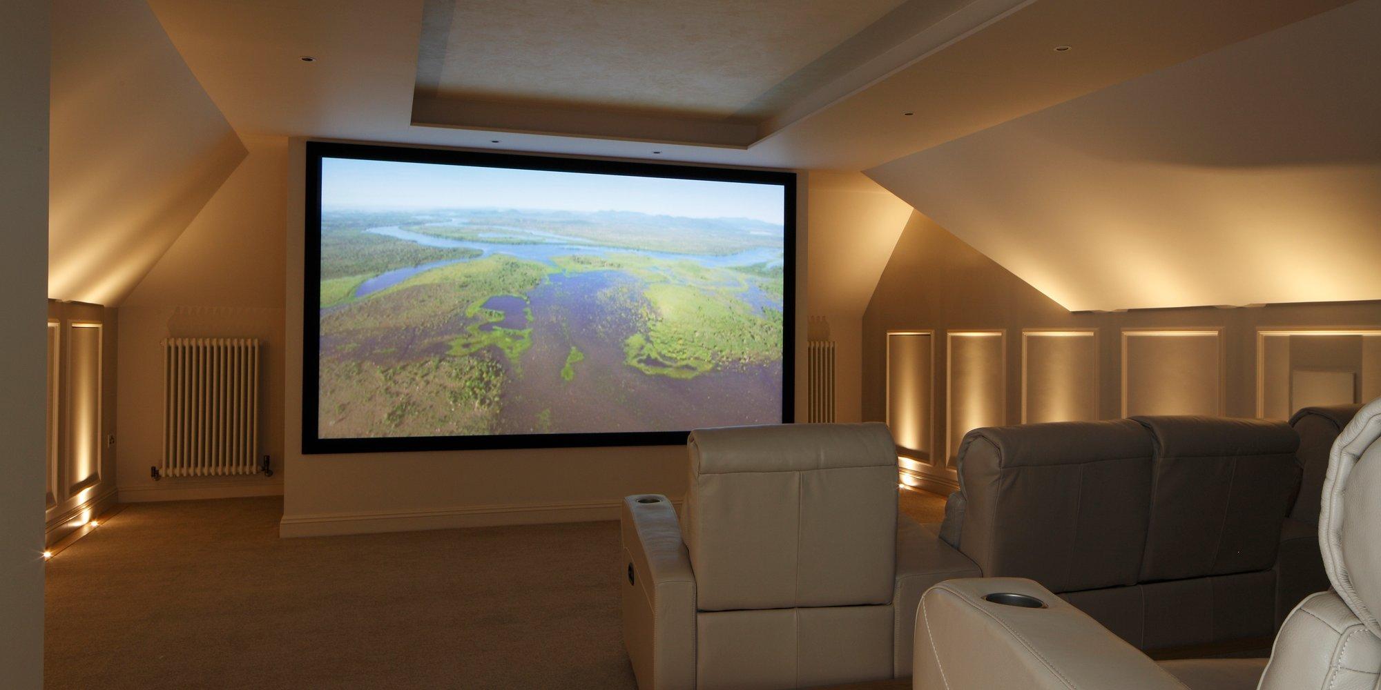Loft Conversion Home Cinema Surrey