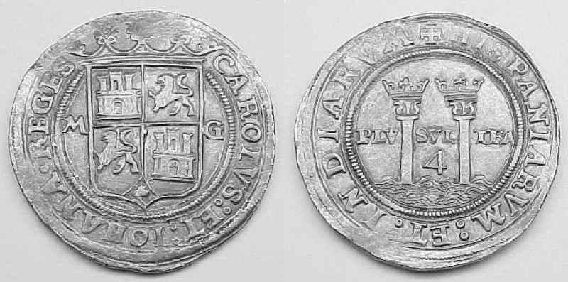 Spanish Cob Coins Chart