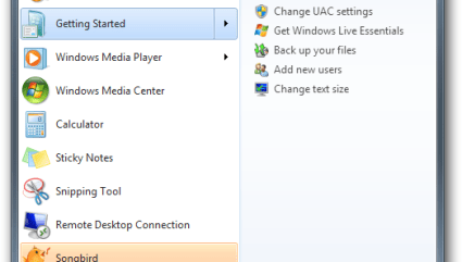 Transfer files to Windows 7 with