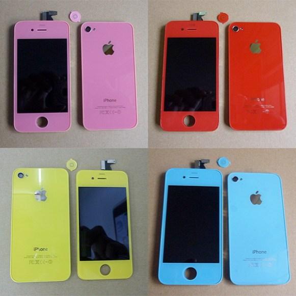 on sale c99e7 32d8d iPhone 4S color conversion - Change iPhone 4S to light blue ...