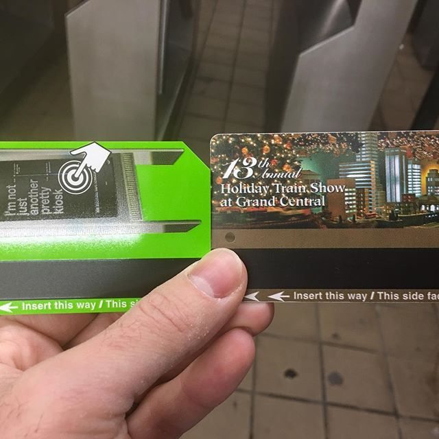 Reuse and you will receive. I reused my subway card so much that the MTA machine gave me a new one, a Green Goblin Metrocard, before my reused one expires. #DidYouKnow #AboutheGreenMetroCard? #ReUse #Recycle #keepriding #subway #metrocard #newyorkcomputerhelp