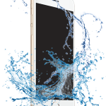water on phone
