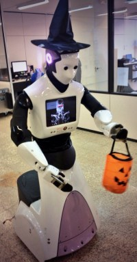 trick or treat robot