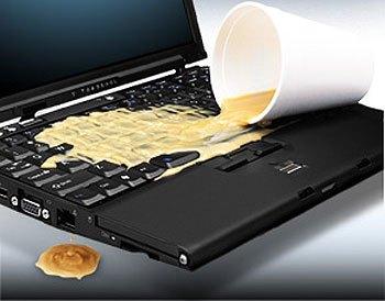 Laptop spill DIY