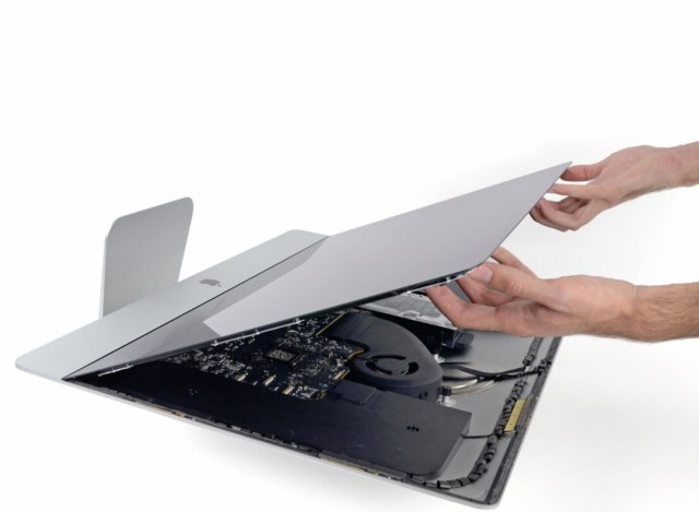 iMac glass replacement service