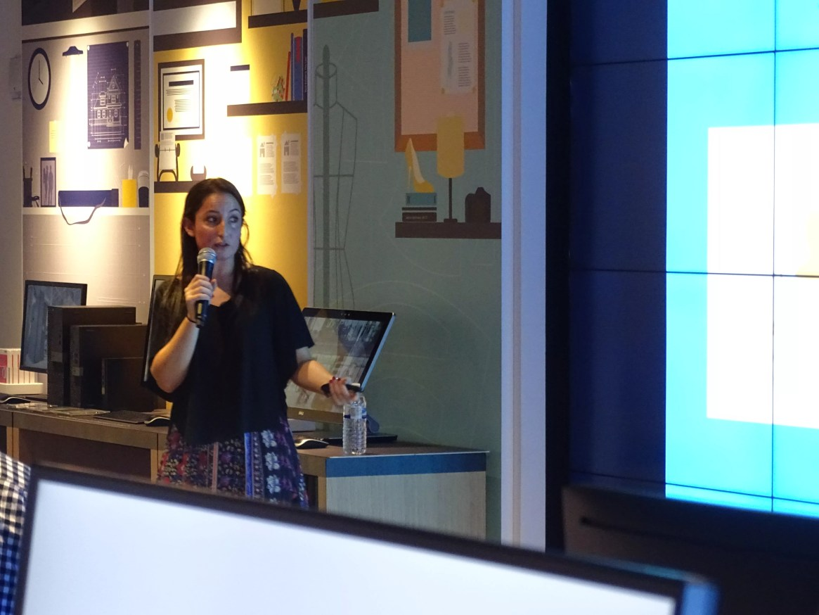 Chelsea talking about WiX.