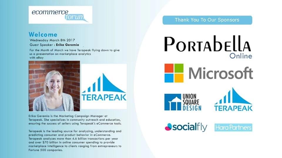 terapeak ecommerce forum presentation