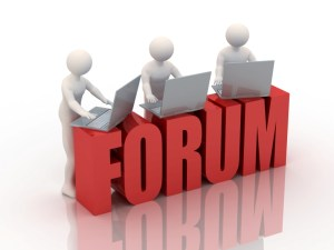The use of forums