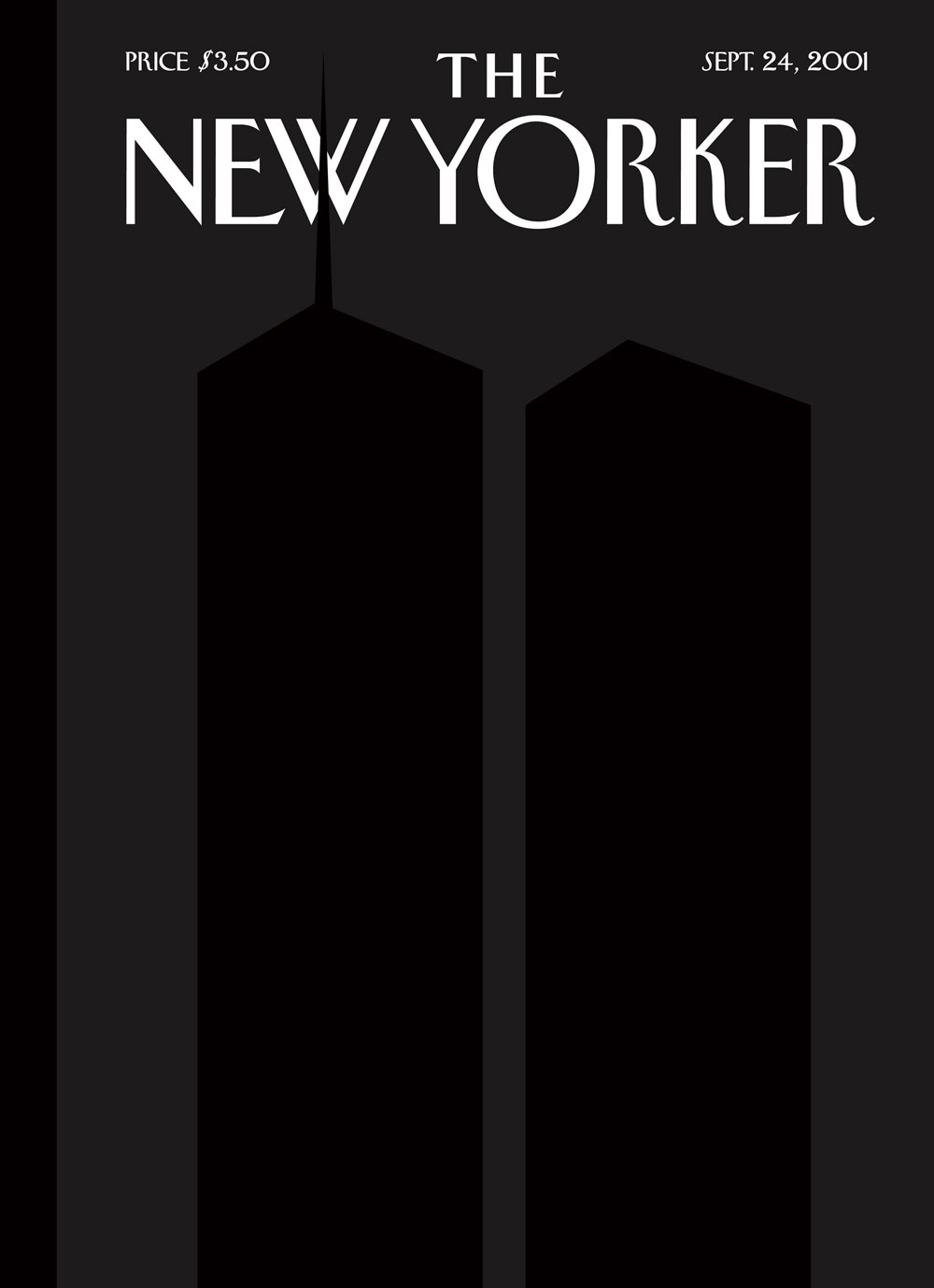 New Yorker 9-11 Cover