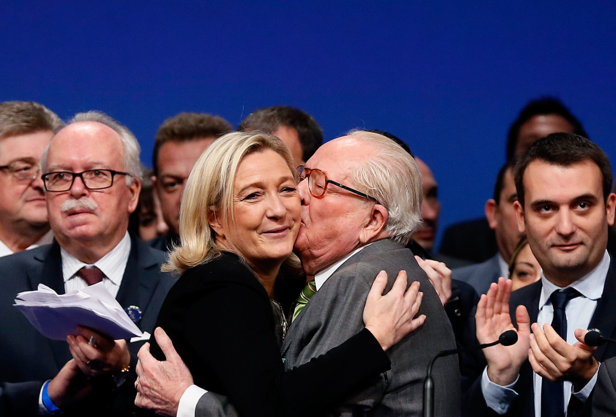 Image result for le pen anti-semitic