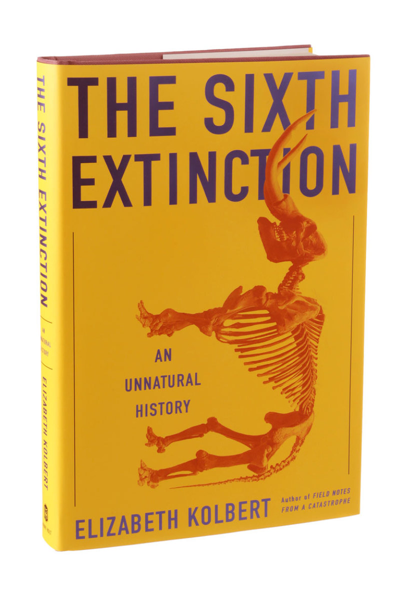 "Elizabeth Kolbert won this year's Pulitzer in general nonfiction for her book ""The Sixth Extinction: An Unnatural History."""