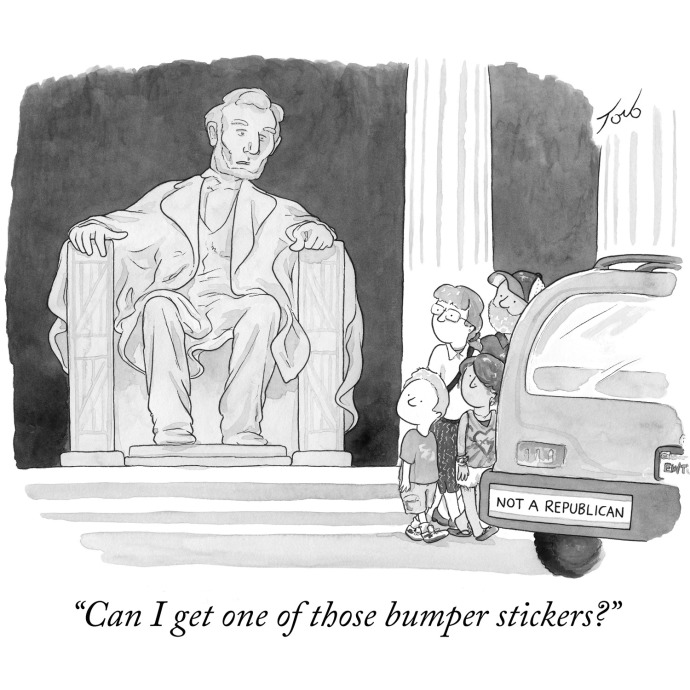 Image result for republican cartoon new yorker