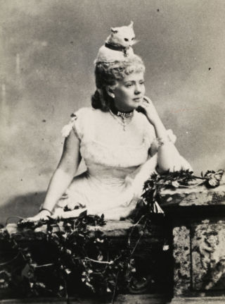 Miss Kate Fearing Strong (later Mrs. Arthur Welman), photographed in 1883.