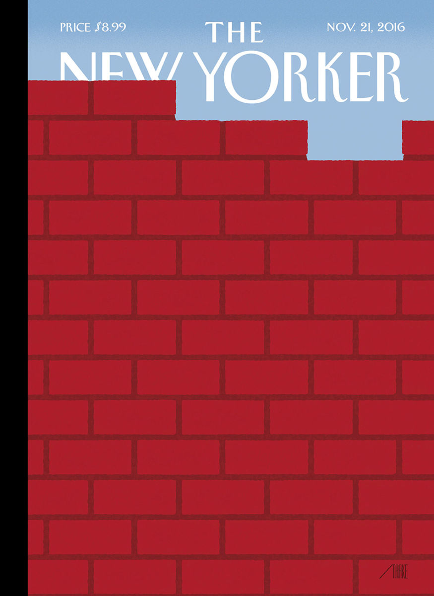 Image result for the new yorker - the wall