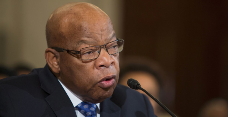 Congressman John Lewis, a hero of the civil-rights movement whom Donald Trump attacked on Twitter over the weekend, remains nearly alone in his capacity to tell the story of race in America.