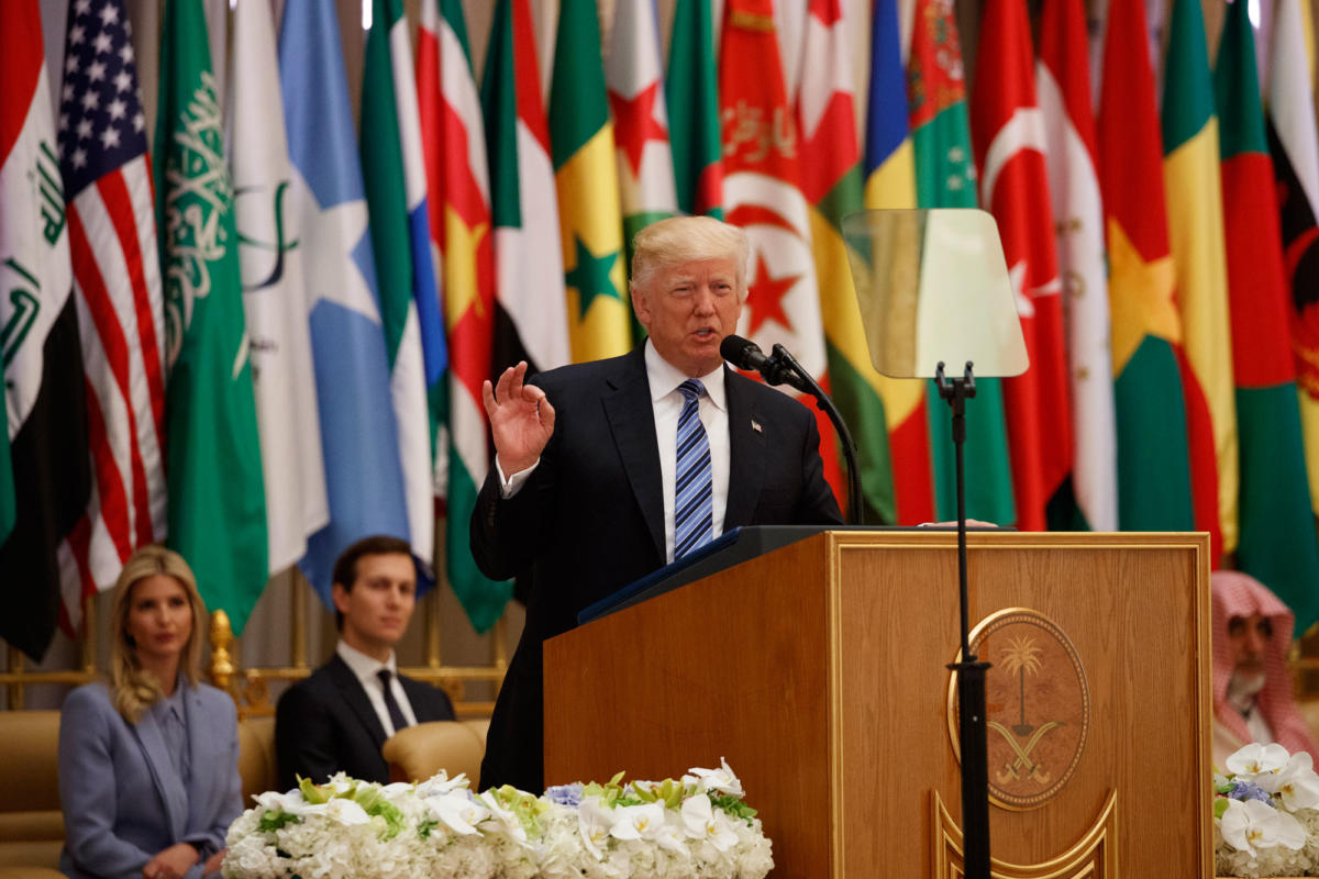 In Saudi Arabia, Donald Trump gave a speech that stood in stark contrast to his previous statements about Islam, but didn't engender confidence.