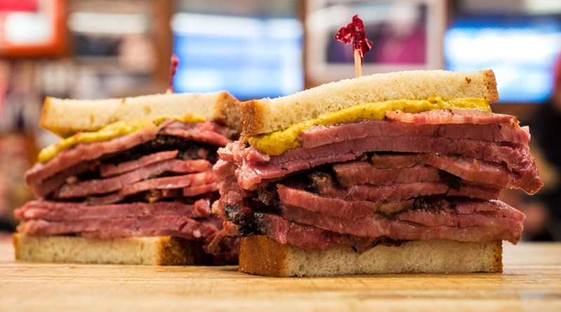 Katz's Pastrami Sandwich NYC Lower East Side