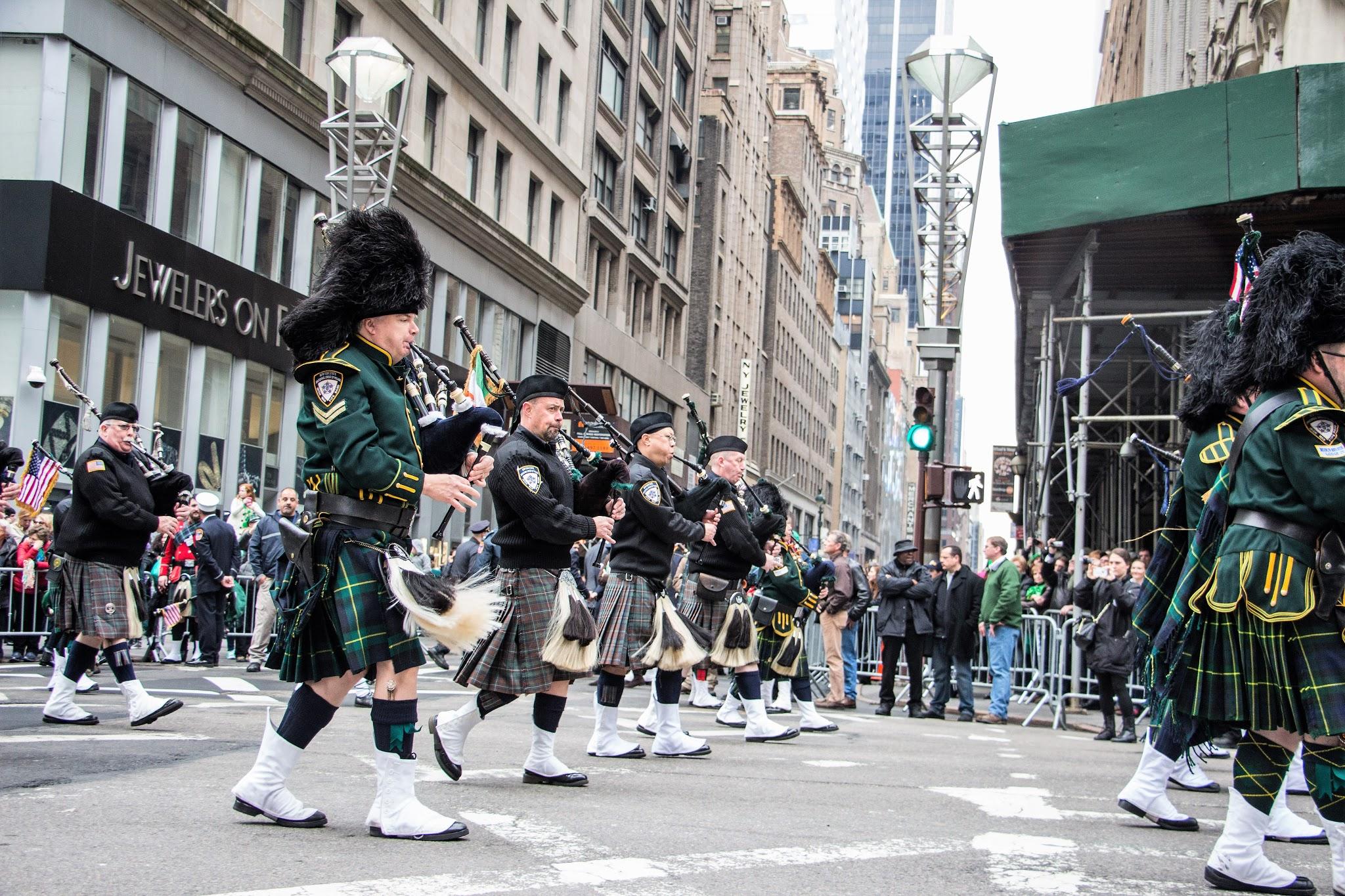 St. Patrick's Day New York City 2015