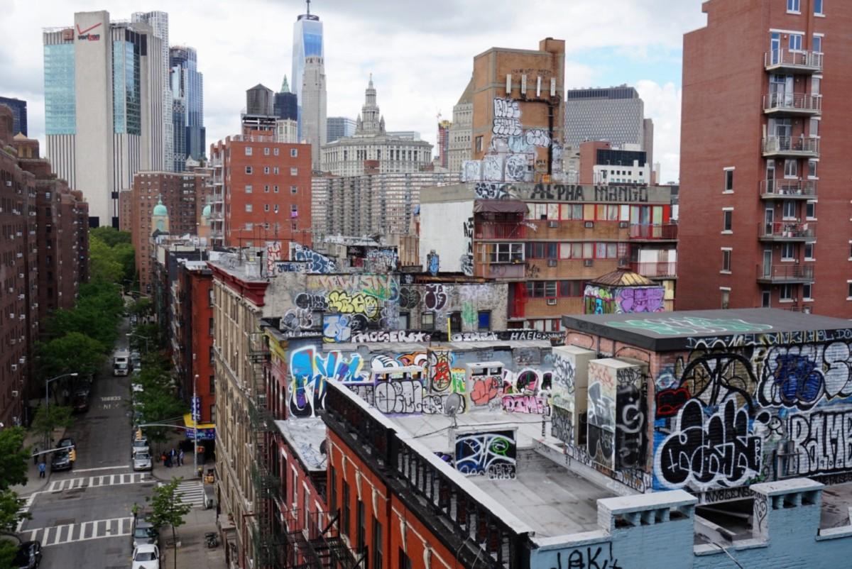 Manhattan graffiti