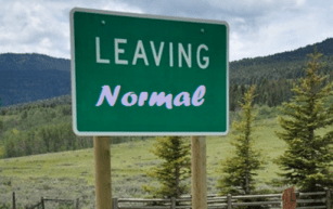 Leaving Normal Sign