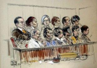 Watergate jury, by John Hart. The original hangs in my office.