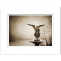 Bethesda Fountain Central Park Sepia Art Print BFS001 MW1620