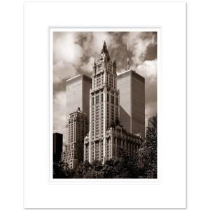 World Trade Center Sepia New York Art Print WTCS003 MW1620