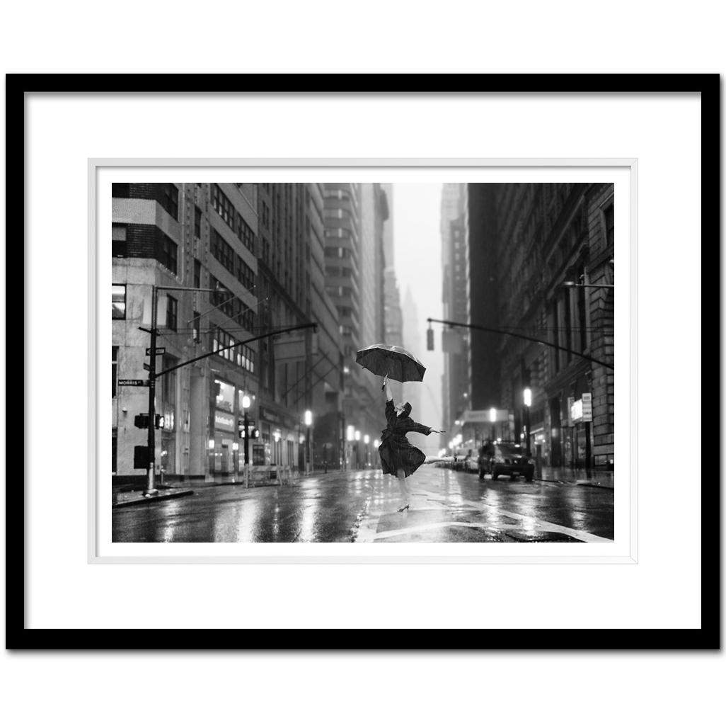 Dnb012 dancing in the rain downtown manhattan broadway