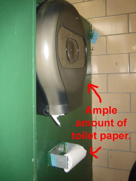 AP toilet paper