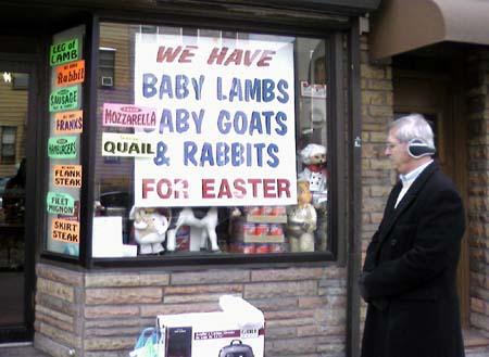 Get yer goats!