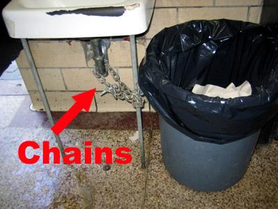 McCarren Park Garbage Can