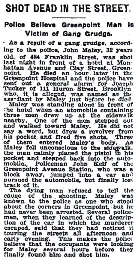 11/6/1921 NY Times