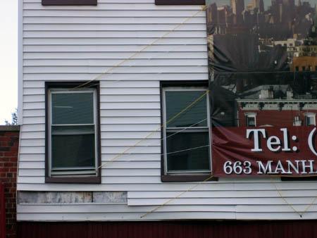 609 Manhattan Avenue 8/12/07 Detail