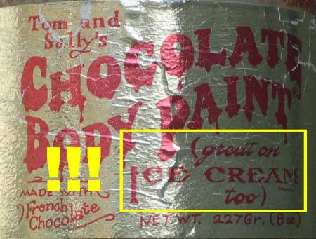 Great on Ice Cream